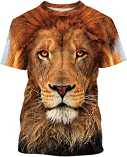 Cool T-Shirts Boys Novelty Shirts 3D Short-Sleeve Tee Tops for Teen Kids 7-14 Years