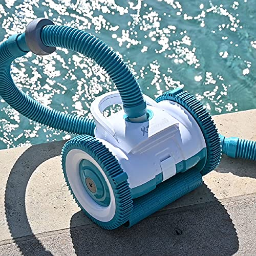 XtremepowerUS Premium Automatic Suction Pool Cleaner for In-Ground Pools with 39' ft. Hose Set (Automatic 2 Wheel Pool Cleaner Vacuum)