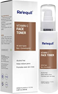 RE' EQUIL Vitamin C Face Toner for Hyperpigmentation Removal and Even Skin Tone - 100ml