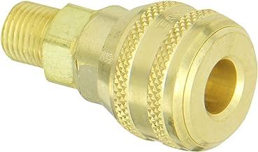 Eaton Hansen 3100E Brass 3000/4000/5000/6000 Series Industrial Interchange, Coupler Socket, 1/4
