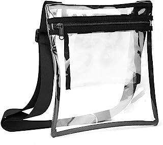 VEED Fashion TPU Klare Umhängetasche Transparente Handtasche für Männer Frauen Outdoor Reisen