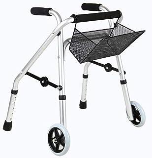 Mobility Aids & Supplies Walker Child Walker Fracture Rehabilitation Sports Car Two-wheel Folding Shopping Cart Elderly Tr...