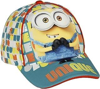 adatto per qualsiasi stagione facile da trasportare senza deformazione Des-pic-ab-le Me Mi-ni-ons pieghevole Cappello da pescatore traspirante con stampa completa unisex a cappello piatto