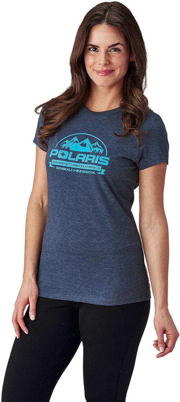 Polaris Women's Roseau T-Shirt Graphic Logo Max 88% OFFicial shop OFF