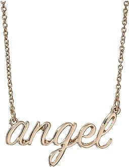 Angel Necklace & Stud Earrings Set