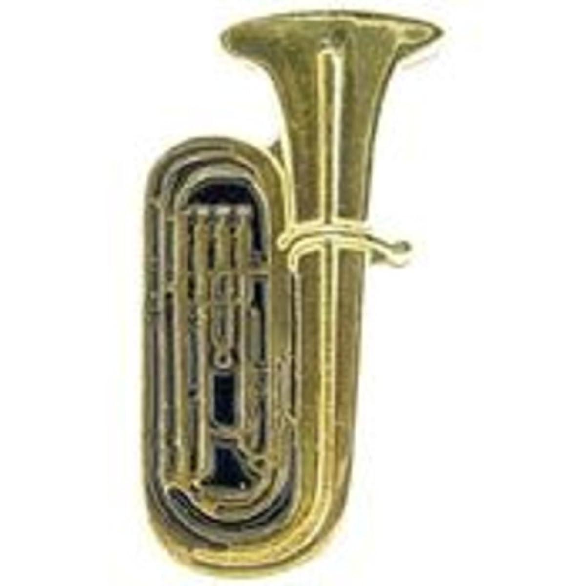 EagleEmblems P01927 Pin-Music,Tuba (1'')