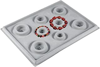 Perle Planches pour la Confection de Bijoux Bracelet, Disque de Mesure Perlé Cadran de Taille Support pour Plateau DIY Cra...