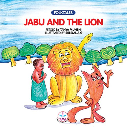 Jabu and the Lion audiobook cover art
