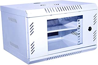 Server Rack 4U Mini CCTV/DVR/NVR Cabinet Box/DVR Rack Wall Mount with Lock/Network Rack/Server Rack with 4 Power Socket & ...