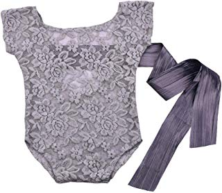 GlobalDeal Newborn Baby Boys Girls Cute Costume Outfits Photo Photography Prop Lace - White