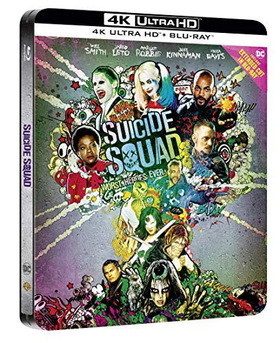 Suicide Squad (Ltd Steelbook) (Blu-Ray 4K Ultra Hd+Blu-Ray) [Italia] [Blu-ray]