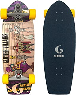 Glutier Surfskate Villain Family 29 with T12 Surf ...