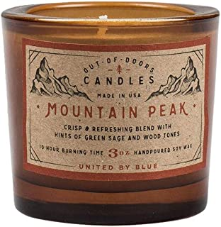 United By Blue - 3 oz. Mountain Peak Out-of-Doors Candle