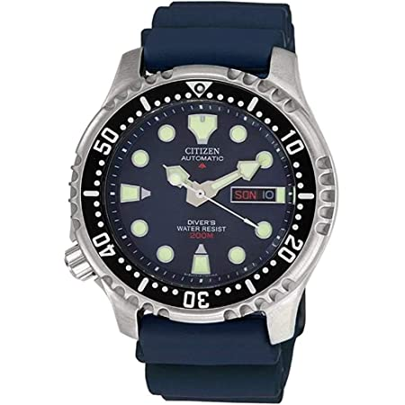 Citizen Men's Analogue Automatic Watch with Plastic Strap NY0040-17LE