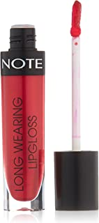 Note Long Wearing Lip Gloss, Red 18, Pink