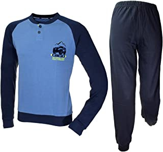 Navigare Pijama niño algodón Interlock invierno 10-12-14-16 años Jeans 215601