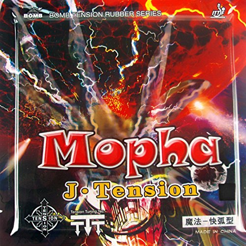 Buy Bargain Bomb Mopha J.Tension (Professional) Pips-in Table Tennis (Ping Pong) Rubber with Sponge ...