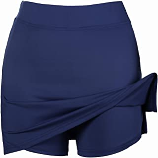 Women's Skort 1/2Pcs Girls Active Athletic Skirt for Running Tennis Golf Workout Sports S-XXL