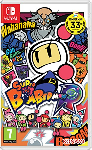 Konami Super Bomberman R, Nintendo Switch Básico Nintendo Switch Italiano vídeo - Juego (Nintendo Switch, Nintendo Switch, Acción, Modo multijugador, E10 + (Everyone 10 +))