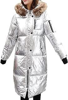BU2H Men Fleece Lined Outerwear Hoodie Coat Full Zip Camo Print Sweatshirt