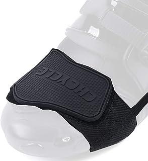 چرخ دنده چرخ دنده لوازم جانبی برای کفش موتور سیکلت چکمه محافظ (سیاه و سفید)