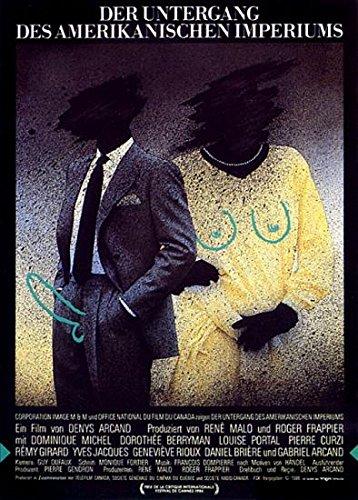 Der Untergang des amerikanischen Imperiums (1986) | Orig. Filmplakat | original Filmplakat, Poster [Din A1, 59 x 84 cm]