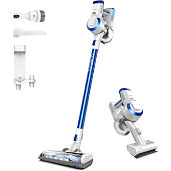 Tineco A10 Hero Cordless Stick/Handheld Vacuum Cleaner with Wall Mount, Super Lightweight with Powerful Suction for Carpet, Hard Floor & Pet - Space Blue