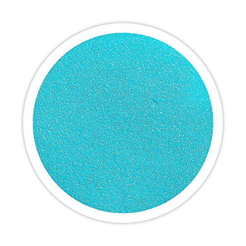 Sandsational Sparkle Pool Blue (Turquoise) Unity Sand, 22 oz, Colored Sand for Weddings, Vase Filler, Home Décor, Craft Sand