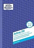 Avery Dennison Zweckform - Formularios de ventas y facturas (2 x 50 hojas A5)