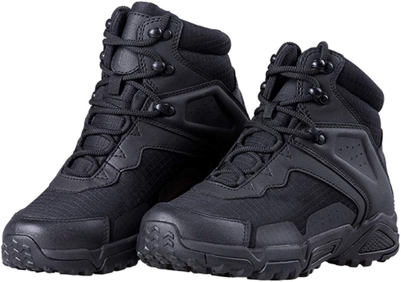 Sport Camping Camping Camping Taktisk Militär Stövlar Män med fotgängare Icke -Slip Combat skor för klättringaa  välkommen att beställa