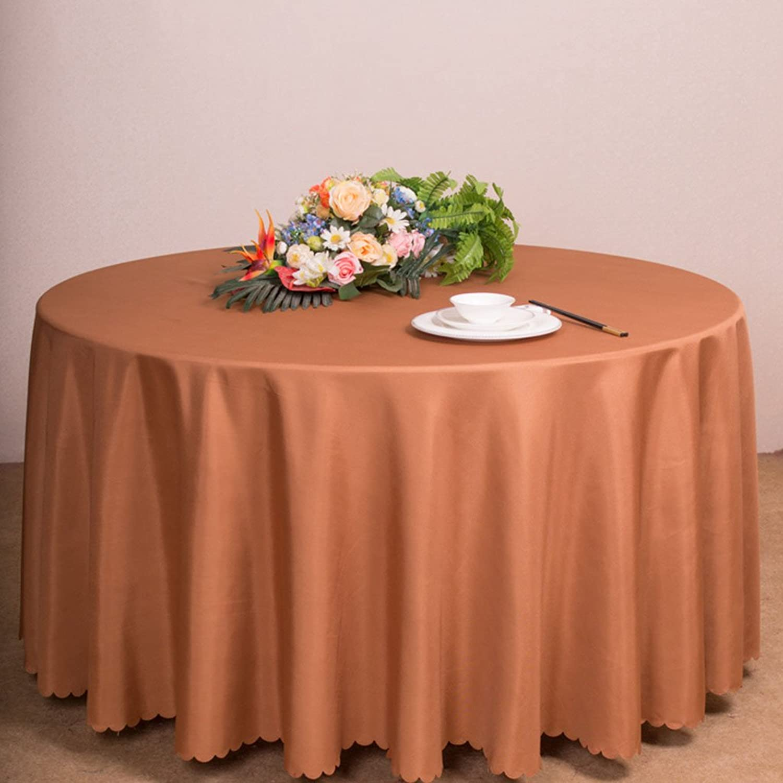 Tienda de moda y compras online. Qiao jin Manteles Manteles rojoondos - - - Mesa de centro de la sala de estar Manteles de hotel - Mantel de la sala de bodas Color sólido - Durable, antideslizante (Color   E, Tamao   Round- 300cm)  online barato