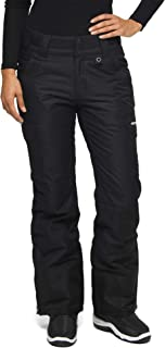 Womens Snow Sports Insulated Cargo Pants