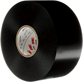 3M Scotchrap Vinyl Corrosion Protection Tape 50, Unprinted, 2 in x 100 ft, Black
