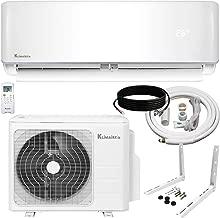 Klimaire 24,000 BTU KSIV 17 SEER Ductless Mini-Split Inverter Air Conditioner Heat Pump System with 15-ft Installation Kit 208/230V