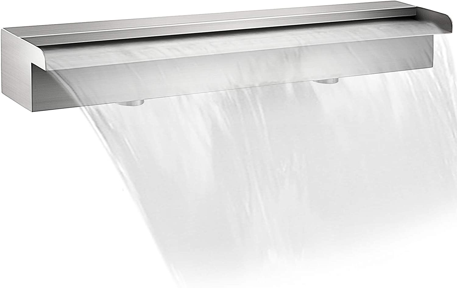 Special price Patiolife Pool Fountain Stainless Steel Waterfall 4 23.6