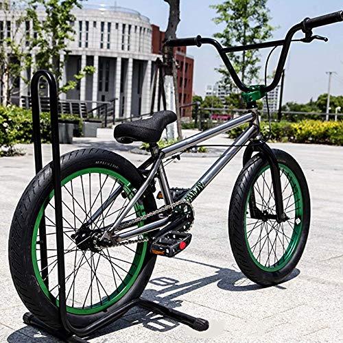 MIAOYO Bici BMX per Adulti Professionale da 20 Pollici, City Fancy Stunt Show BMX Bicycle per Principianti A Livello per Principianti A Girl Advanced Street Bikes 25 * 9T
