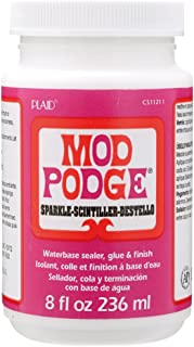 Mod Podge Waterbase Sealer, Glue and Finish (8-Ounce), CS11211 Sparkle