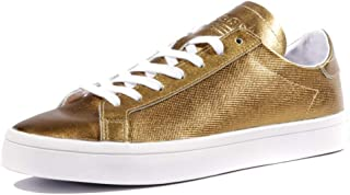 adidas Court Vantage Womens Sneakers Gold