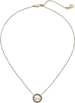 Logo Pendant - Short Necklace