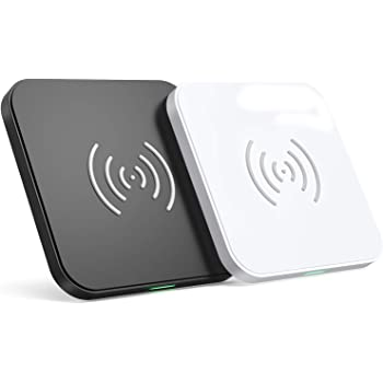 CHOETECH Wireless Charger (2 Pack),10W Max Qi-Certified Fast Wireless Charging Pad Compatible with iPhone SE 2020/11/11 Pro/11 Pro Max/XS Max/XS/X, Samsung Galaxy S20/Note 10/S10/S9, AirPods Pro