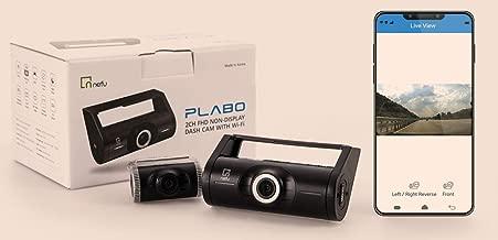 Nefu-Plabo 2-Channel Dual-Camera DashCam 16GB Wifi FHD with Sony Starvis IMX CMOS Sensor (Front + Rear)