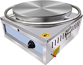 Crepe maker crepe pan smet spridare pannkaka maskin rostfritt stål LPG gasgrill för kök restrafrant bar kommersiell bärbar...