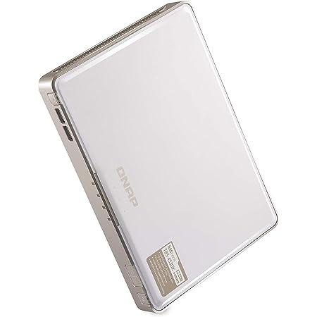 QNAP(キューナップ) TBS-453DX 専用OS QTS搭載 ntel Celeron J4115クアッドコアプロセッサ M.2 SSDで構築する「NASbook」コンセプトのコンパクトモデル
