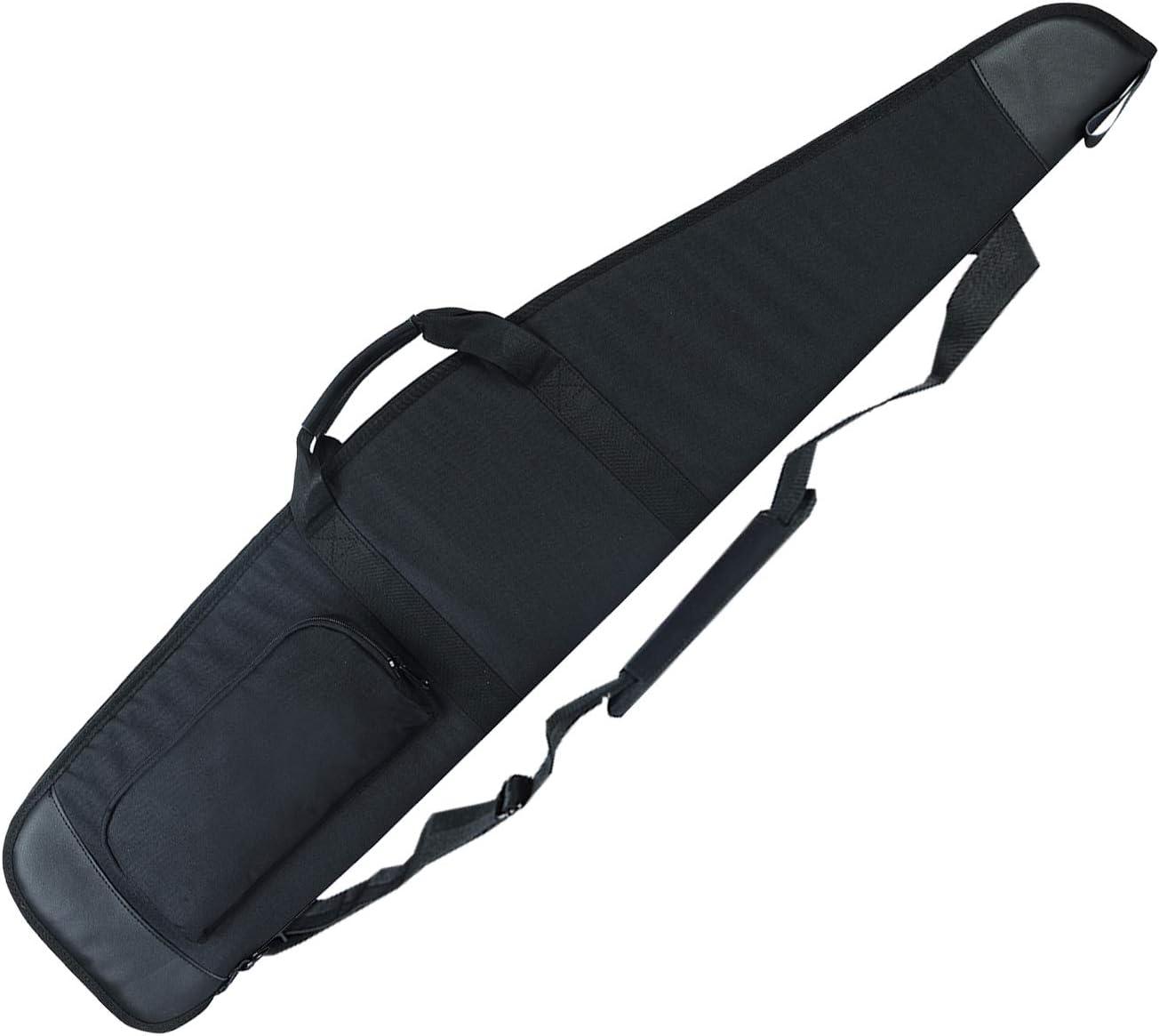 AUMTISC Soft-Rifle-Case Genuine-Leather Very popular! Gun Case for 48 in Superlatite 52 44