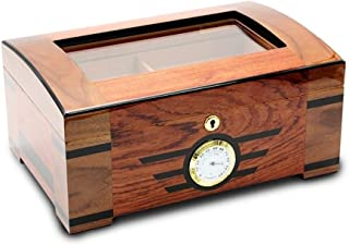 LBLMSB Cigar Humidor, Cedar Wood Cigar Box, Sealed Box, Piano Painted Cigarette Case Latest Styles
