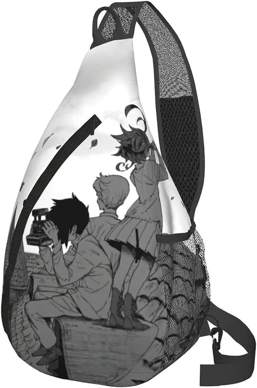 The Promised Neverland Emma Anime Bag Adjust We OFFer at cheap prices Regular discount Multifunction Sling