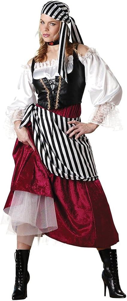 InCharacter Women's Pirate039;s Philadelphia Mall Wench Cutie D Seasonal Wrap Introduction Cut-throat Costume