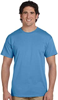 7107c2dd68 Fruit of the Loom 3930 100% Heavy Cotton Tee Columbia Blue 2 Pack