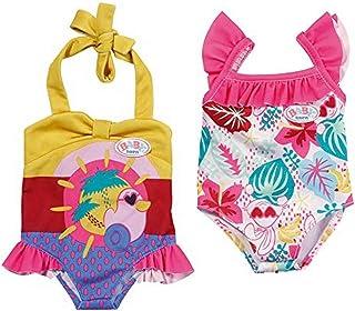 BABY born 828281 8281 Holiday badpak, poppenkleding 43 cm - kleur op voorraad, gesorteerd kleuren, 1 stuk