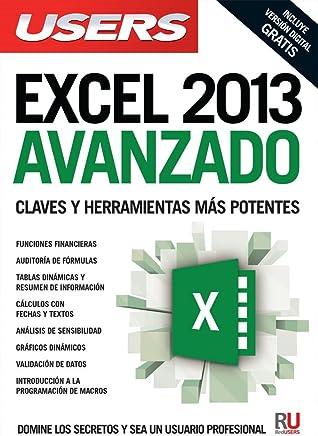 Microsoft Excel 2013 avanzado: Manuales USERS (Spanish Edition)